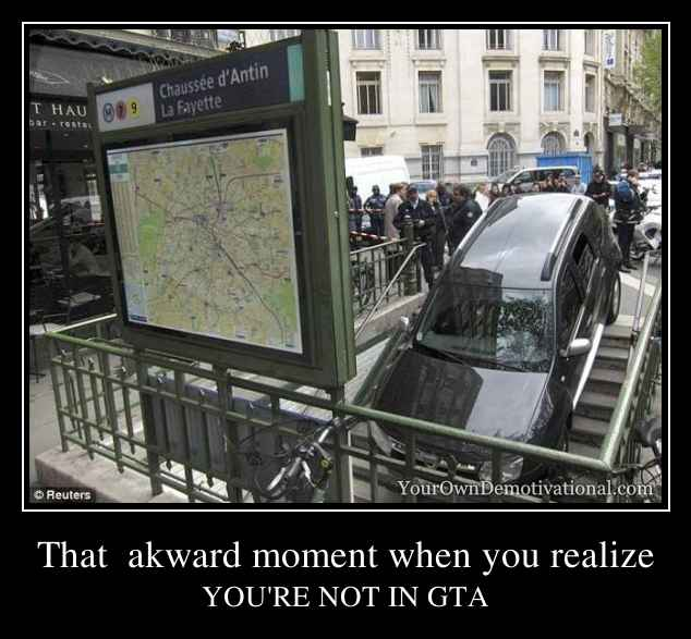 Yourowndemotivational That Akward Moment When You Realize
